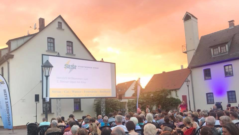 Open Air Kino Foto